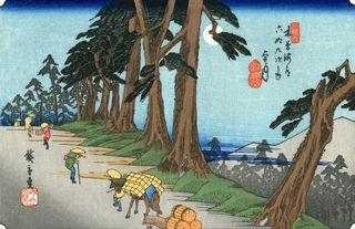 Hiroshige und Eisen 69 Stations of Kisokaido Nr 26 Mochizuki